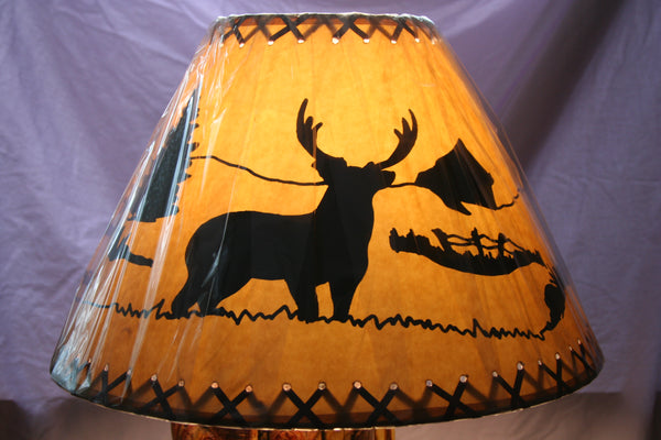 Lamp Shade Deer