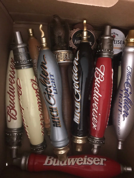 Fire Poker Beer Tap Handles