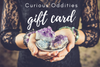 Handmade gemstone and vintage jewelry gift card