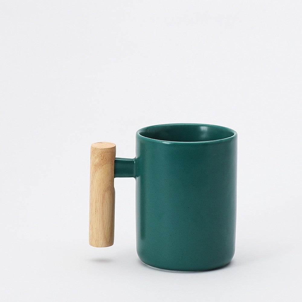 Porcelain Heat-Insulated Tea Mug