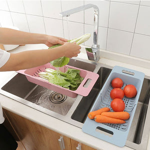 Kitchen Sink Drain Basket for Vegetables and Fruits