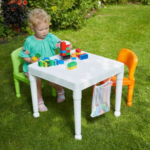 Multipurpose 3-in-1 Activity Table and Chairs Set