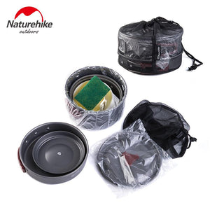 Outdoor Camping Pots and Pans Cookware Set