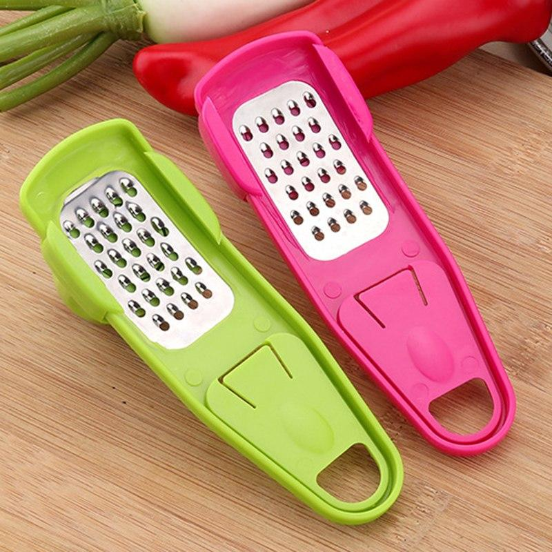 Multi-Functional Mini Garlic Grater