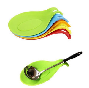 Silicone Kitchen European Style Spoon Mat