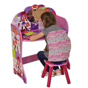 Fashion Girl Dressing Table & Stool Set