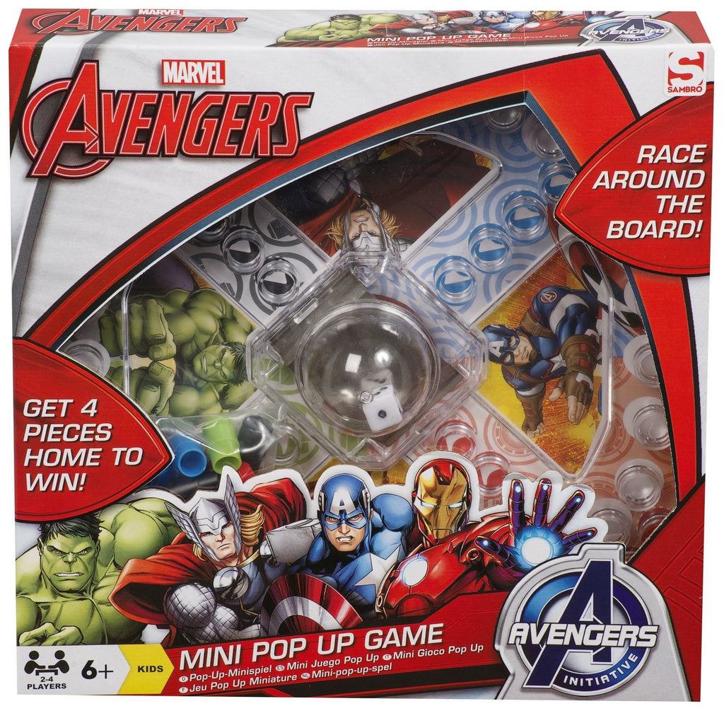 Marvel Avengers Mini Pop Up Game - Scarlet Bloom