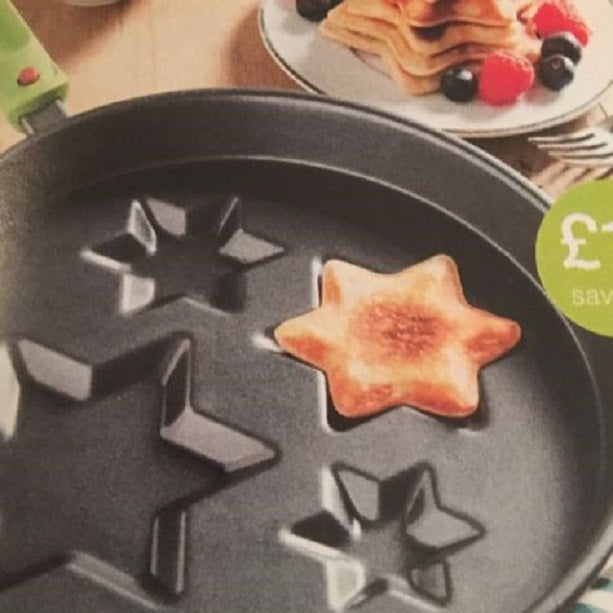 Kitchen Magik Star Pan