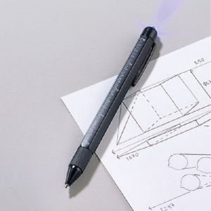 Tech Pen with UV Light - Scarlet Bloom