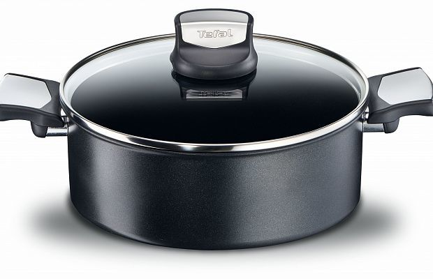 Tefal Expertise Non-Stick Stewpot with Lid