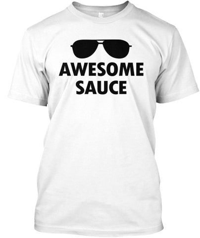 Awesome Sauce Sunglasses Cool T-Shirt - lkrseller, Men's Shirts ,