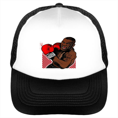 Boxing Punch Out Upper Cut Iron Mike Hat - lkrseller, Hat ,