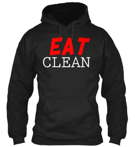 Eat Clean Diet Fitness Fat Burner Shirt - lkrseller, Hoodies ,