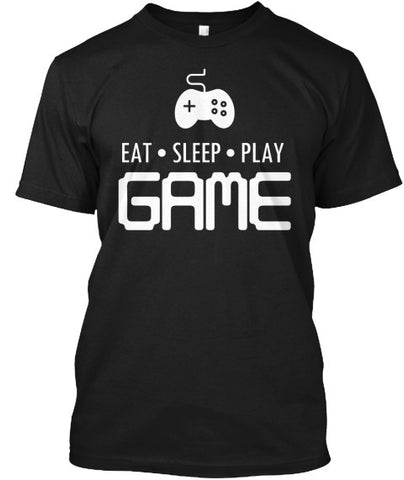 Eat Sleep Play Game Gamer Controller Tee - lkrseller shirts Men's Shirts, t-shirts, hoodies, tank tops, custom