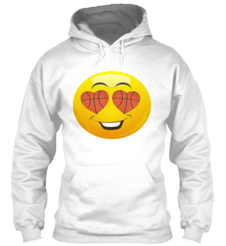 Emoji Basketball Smiling Shirt Funny Tee - lkrseller, Hoodies ,