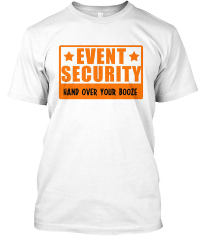 Event Security Hand Over Drinking Tshirt - lkrseller, Men's Shirts ,
