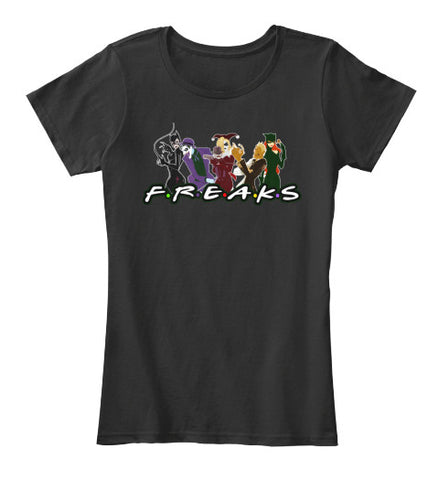 Freaks Villains Super Hero T-Shirt - lkrseller shirts Women's Shirts, t-shirts, hoodies, tank tops, custom