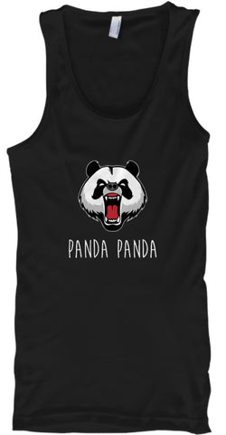 Funny Panda Panda Animal Bear T-Shirt - lkrseller, Tank Tops ,