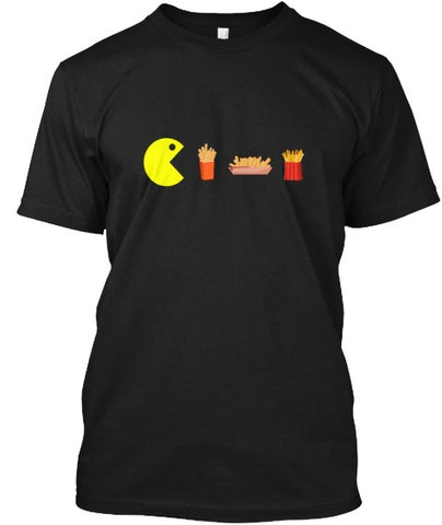 Funny Vintage Gamer Fries Foodie T-Shirt - lkrseller shirts Men's Shirts, t-shirts, hoodies, tank tops, custom