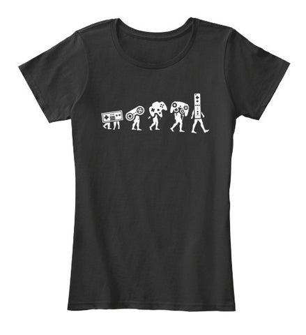 Game Controller Evolution Gamer T- Shirt - lkrseller, Women's Shirts ,