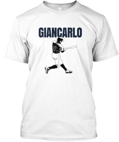 Giancarlo Baseball Home Run HR Swing T-Shirt - lkrseller, Shirt / Hoodie ,