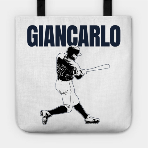 Giancarlo Baseball New York Home Run Hitter Tote Bag - lkrseller shirts Tote Bag, t-shirts, hoodies, tank tops, custom