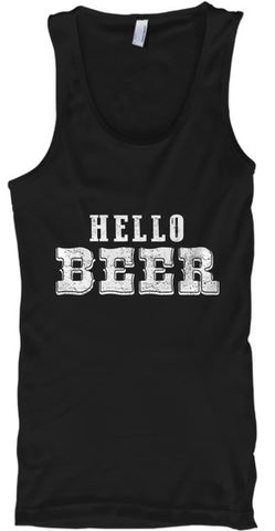 Hello Beer Party Funny Apparel - lkrseller, Tank Tops ,