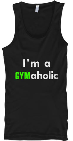 I'm A Gymaholic Workout Fitness - lkrseller, Tank Tops ,