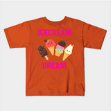Ice Cream Dream Foodie Food Sundae Kids Juvenile T-Shirt (Ages 4-7) - lkrseller shirts Kids T-Shirt, t-shirts, hoodies, tank tops, custom