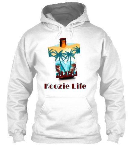 Koozie Life Beer Drinking Holder T-Shirt - lkrseller, Hoodies ,