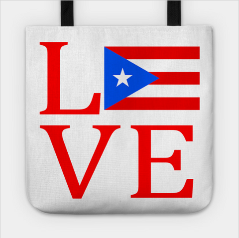 Love Puerto Rico Flag Heart Tote Bag - lkrseller shirts Tote Bag, t-shirts, hoodies, tank tops, custom