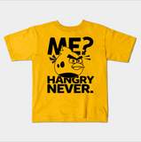 Me Hangry Never Bird Funny Foodie Kids Juvenile T-Shirt (Ages 4-7) - lkrseller shirts Kids T-Shirt, t-shirts, hoodies, tank tops, custom