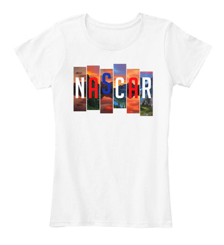Nascar Car Racing Race Speed T-Shirt - lkrseller, Women's Shirts ,