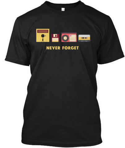 Never Forget Floopy Disk Tape Tee Shirt - lkrseller shirts Men's Shirts, t-shirts, hoodies, tank tops, custom