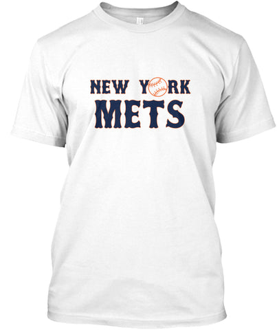 New York Baseball Mets Amazing Hardball T-Shirt