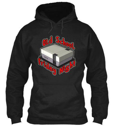 Old School Friday Night Gamer Video Tee - lkrseller, Hoodies ,