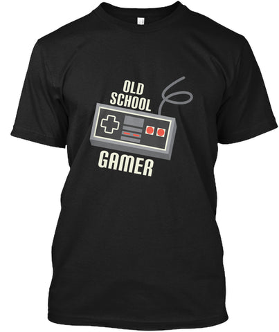 Old School Gamer Controller Joystick T-Shirt - lkrseller shirts Shirt / Hoodie, t-shirts, hoodies, tank tops, custom