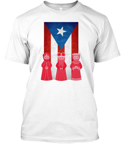 Puerto Rico 3 Kings Wise Man Day T-Shirt - lkrseller, Men's Shirts ,
