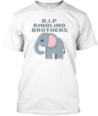 R.I.P Ringling Brothers Circus Elephant - lkrseller, Men's Shirts ,