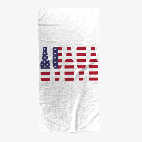 Red White And Beer Bottles USA Towel - lkrseller shirts Towel, t-shirts, hoodies, tank tops, custom