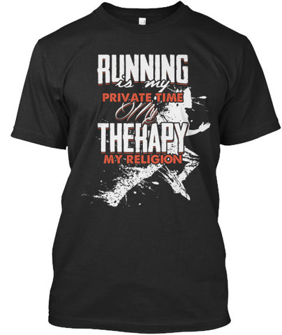 Runner Running is my Private Time Mara - lkrseller, Men's Shirts ,