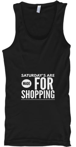 Saturday's Are Made For Shopping - lkrseller, Tank Tops ,