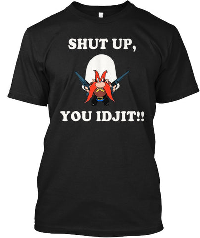 Shut Up, You Idjit! Sammity Tee Shirt - lkrseller, Men's Shirts ,