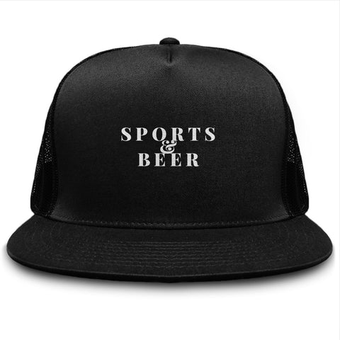 Sports And Beer Trucker Snapback Hat - lkrseller shirts Hat, t-shirts, hoodies, tank tops, custom