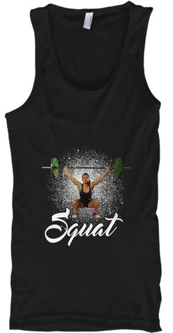 Squat Workout Lift Fitness - lkrseller, Tank Tops ,
