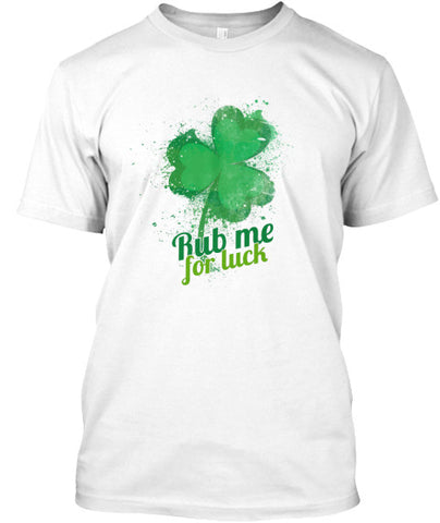 St. Paddy's Patrick's Rub Me For Luck - lkrseller, Men's Shirts ,