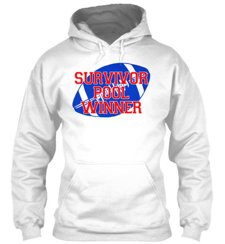Survivor Pool Winner Trophy Football Tee - lkrseller, Hoodies ,