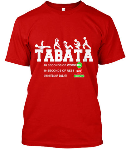 Tabata Cardio Bootcamp Workout Timer Tee - lkrseller shirts Men's Shirts, t-shirts, hoodies, tank tops, custom