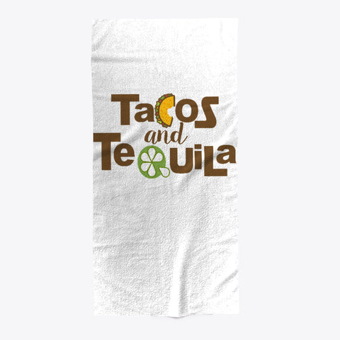 Tacos And Tequila Foodie Drinking Towel - lkrseller shirts Towel, t-shirts, hoodies, tank tops, custom