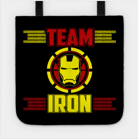 Team Iron Mask Head Super Hero Tote Bag - lkrseller shirts Tote Bag, t-shirts, hoodies, tank tops, custom